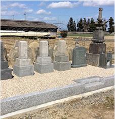 お墓の建替・リフォーム 施工後