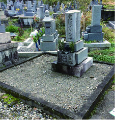 お墓の建替・リフォーム 施工前