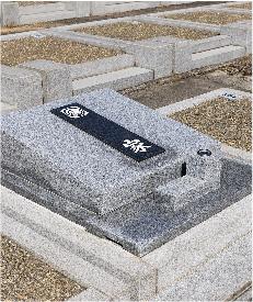 洋型墓石・オリジナルデザイン墓石