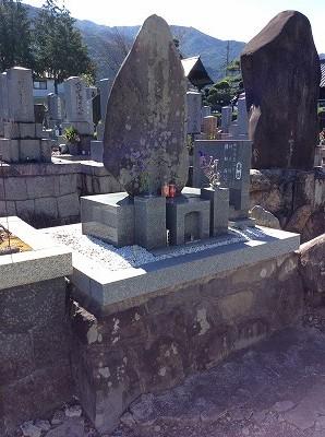 墓石のリフォーム工事