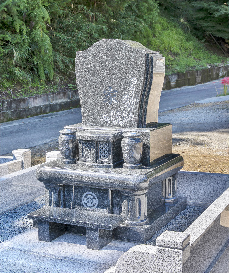 洋型・オリジナルデザイン墓石11