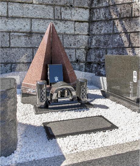 洋型・オリジナルデザイン墓石7