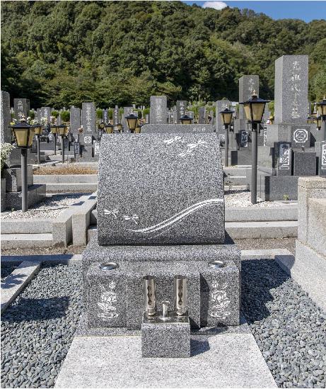 洋型・オリジナルデザイン墓石1