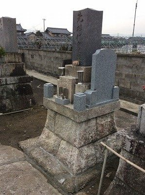 墓石 リフォーム工事