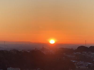 圓満寺霊苑 初日の出&かがり火
