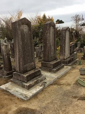金宝寺 お墓の再建工事