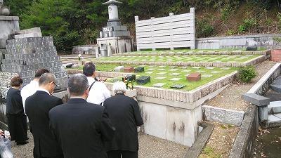 弥勒苑・樹木葬 納骨式