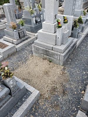 南濃町にて墓じまい