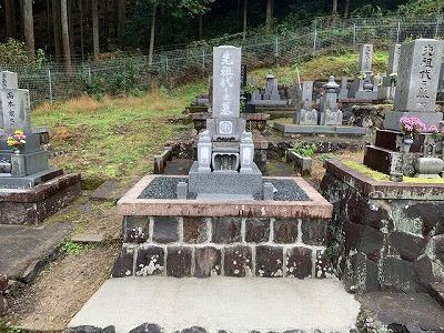 お墓のリフォーム工事