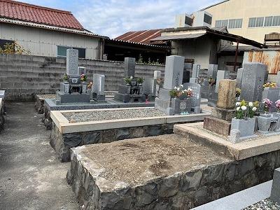 高田墓地にてお墓じまい