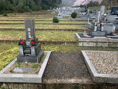 養老霊苑にて墓じまい