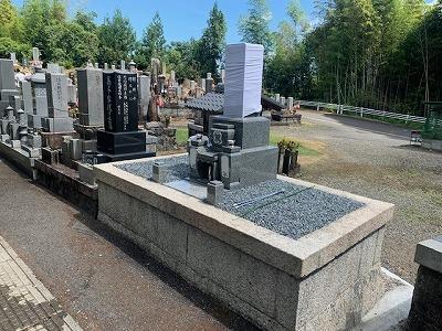 お墓の建替え工事