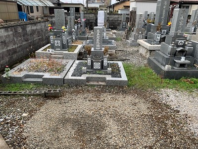 大垣にてお墓じまい