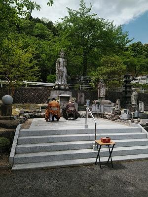圓満寺霊苑 春の合同法要