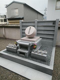 合祀墓への納骨